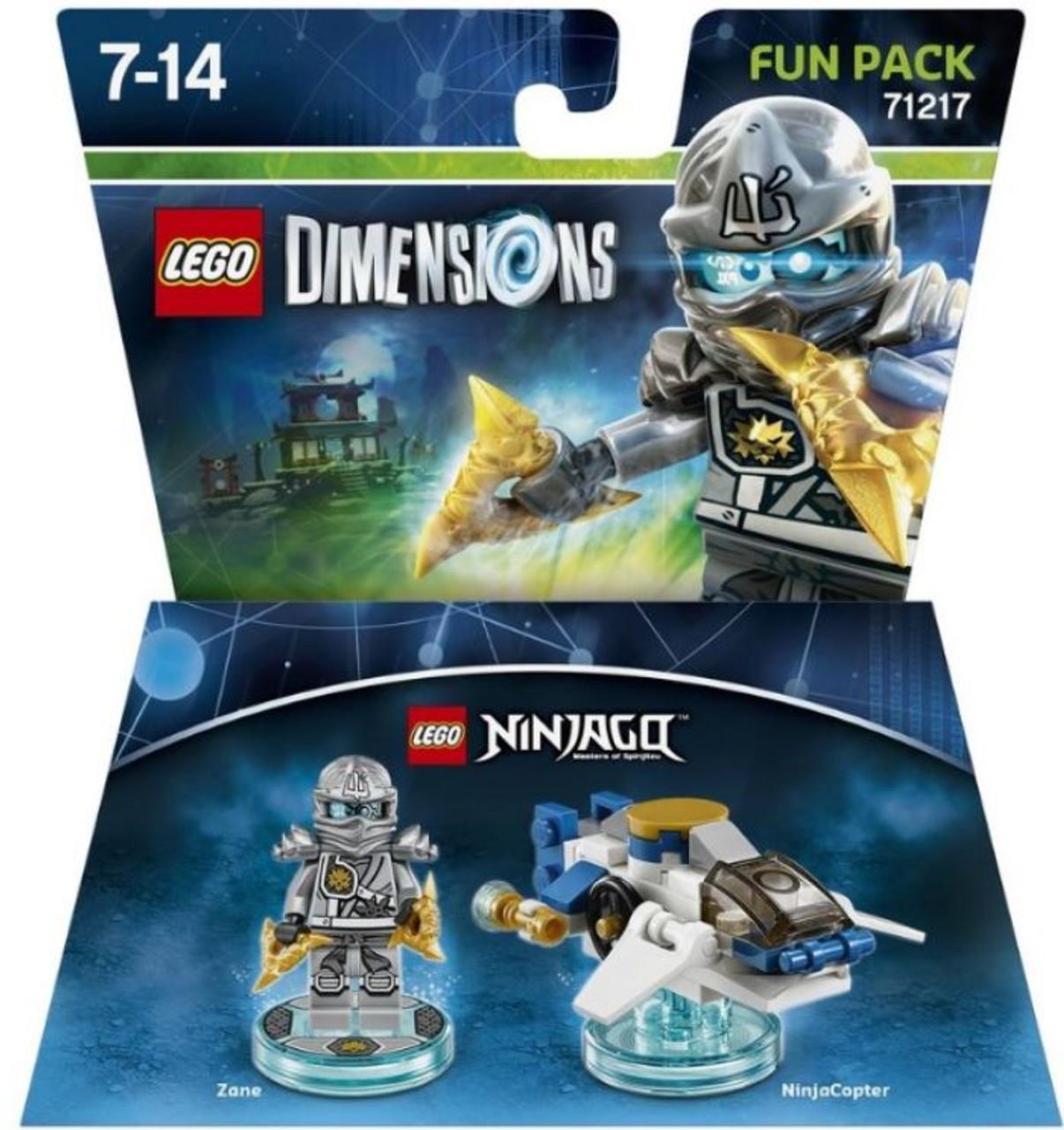 LEGO Dimensions Ninjago Zane NinjaCopter Fun Pack 71217 - ToyWiz