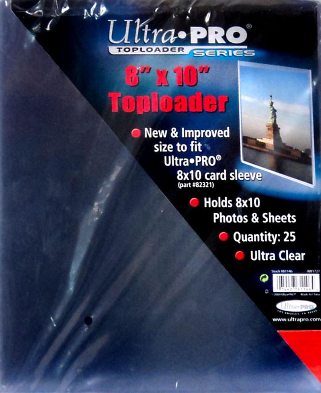 Ultra Pro Card Supplies Toploader Series 8 X 10 Toploader Card