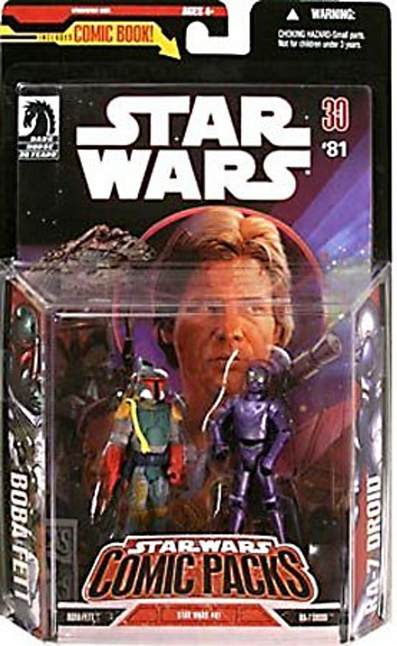 Star Wars Expanded Universe Comic Packs 2007 Boba Fett & RA-7 Droid Exclusive Action Figure 2-Pack