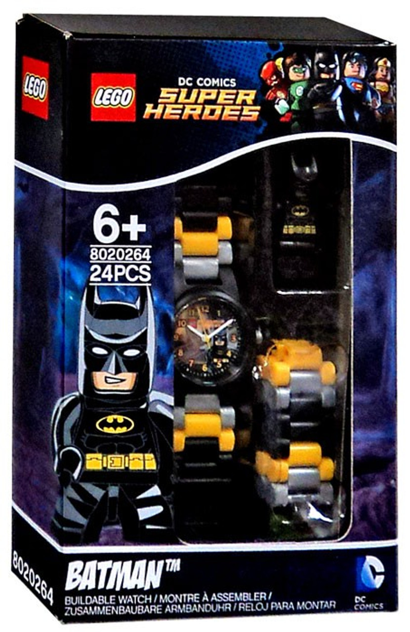 LEGO DC Super Heroes Batman Buildable Watch Set 8020264 - ToyWiz
