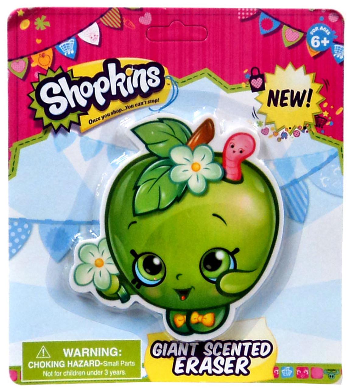 Shopkins Apple Blossom Giant Scented Eraser