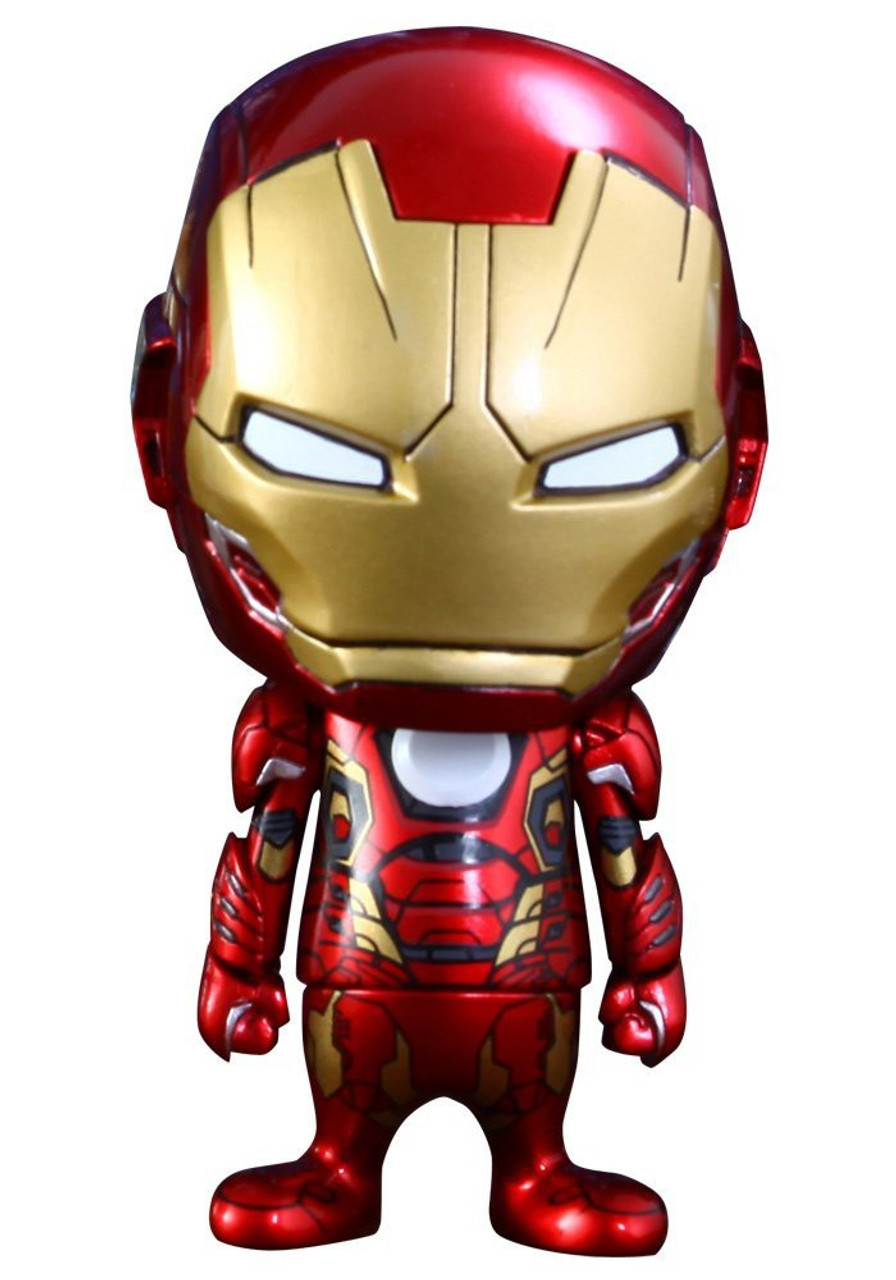 Marvel Avengers Age of Ultron Cosbaby Series 2 Iron Man Mark XLV 3-Inch Mini Figure