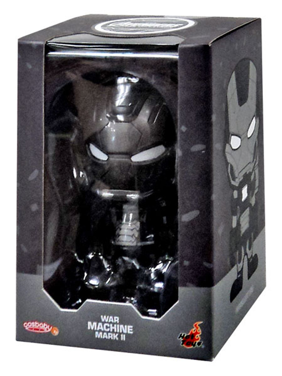 Marvel Avengers Age of Ultron Cosbaby Series 2 War Machine Mark II 3-Inch Mini Figure