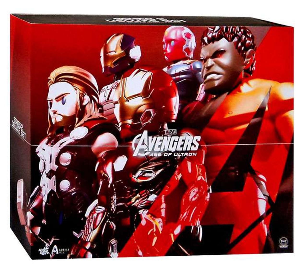 Marvel Avengers Age of Ultron Artist Mix Figure Series 2 Deluxe Action Figure Set