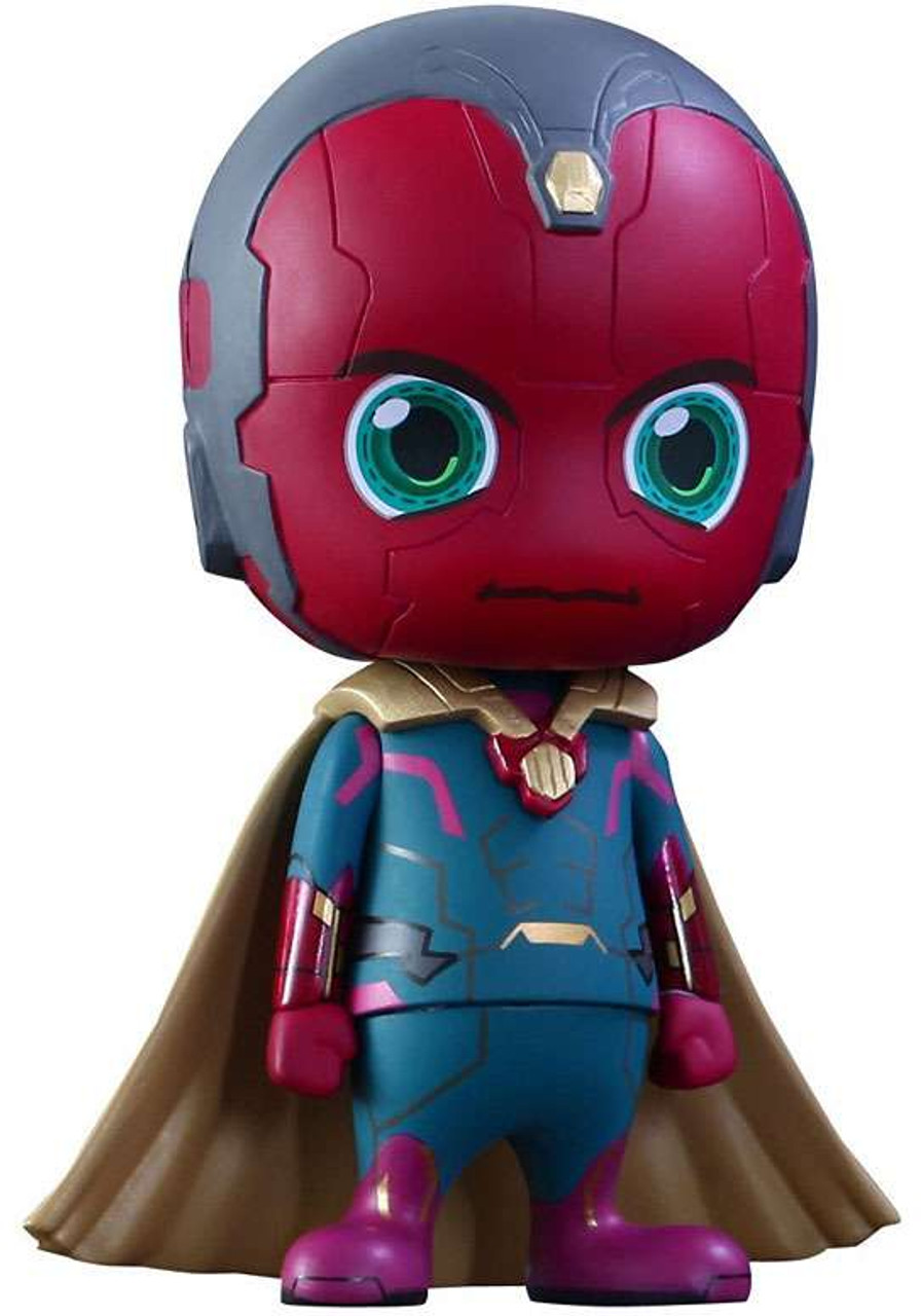 Marvel Avengers Age of Ultron Cosbaby Series 2 Vision 3-Inch Mini Figure