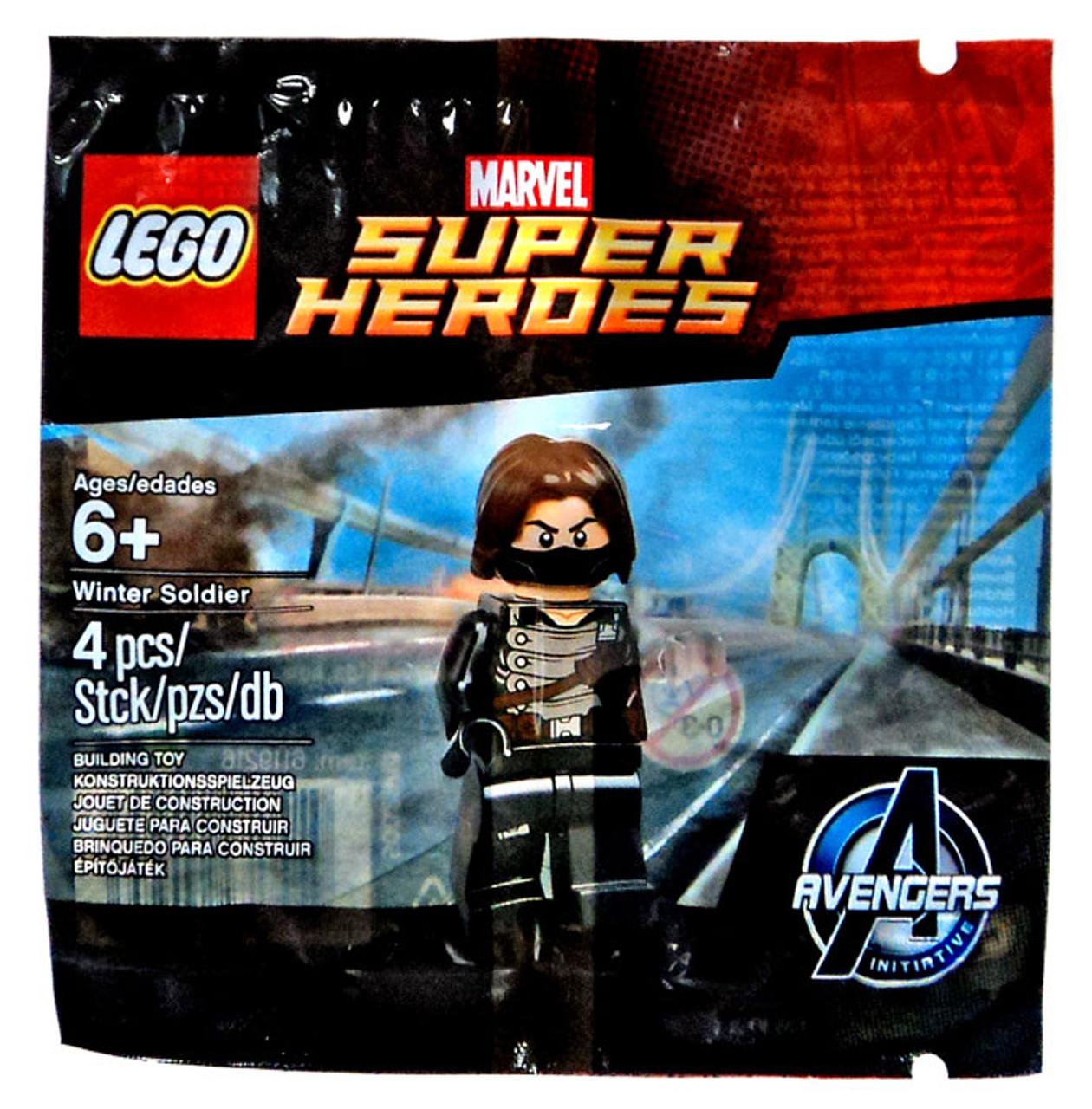 LEGO Marvel Super Heroes Avengers Initiative Winter Soldier Set ...