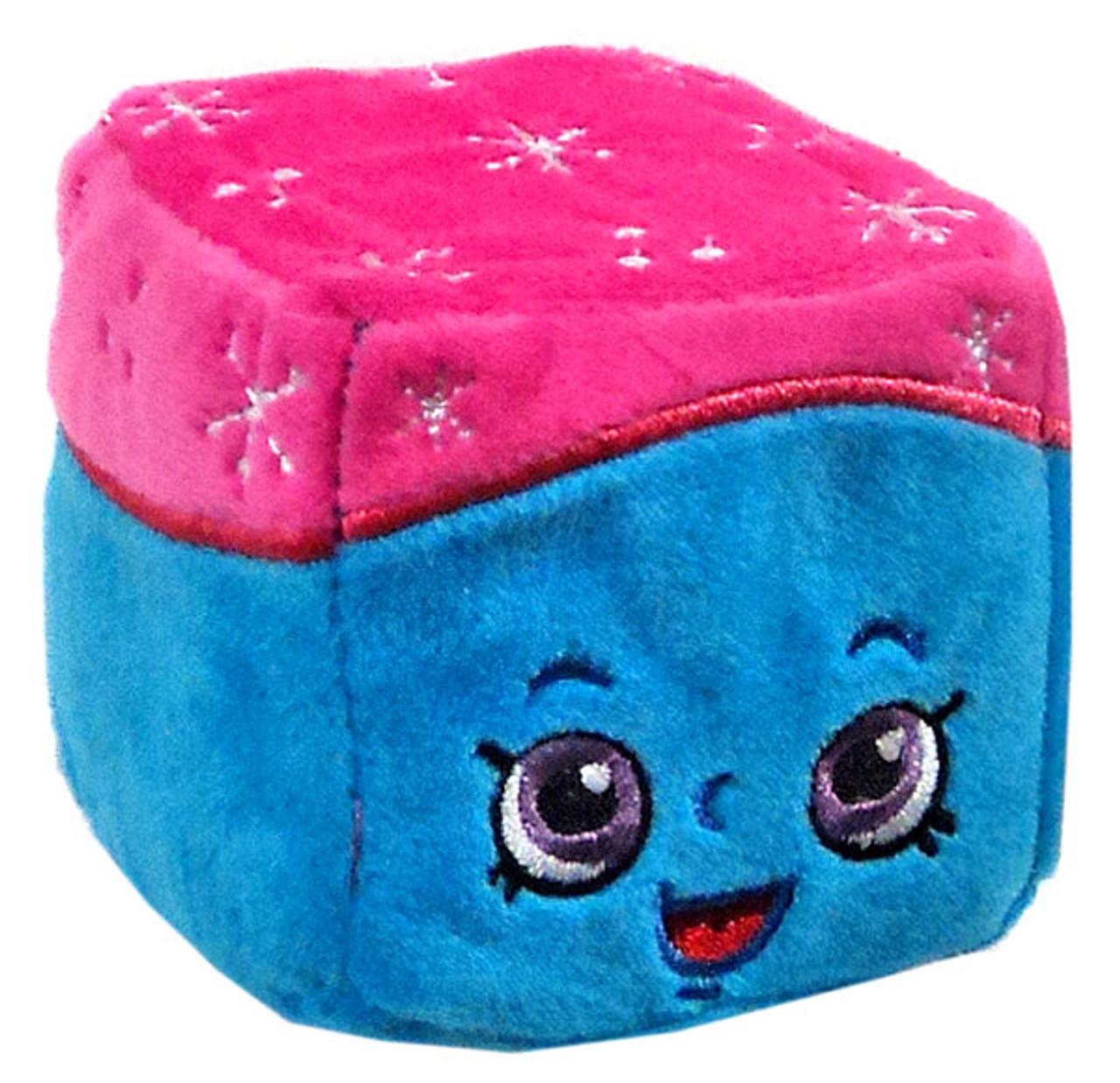 Shopkins Cuddle Cubes Snow Crush 3 Inch Plush