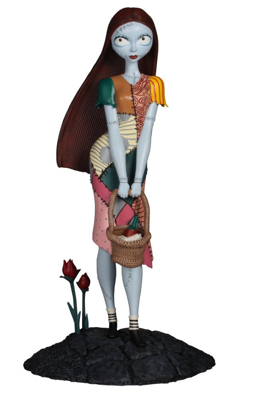 nightmare before christmas femme fatales sally 9 inch pvc statue