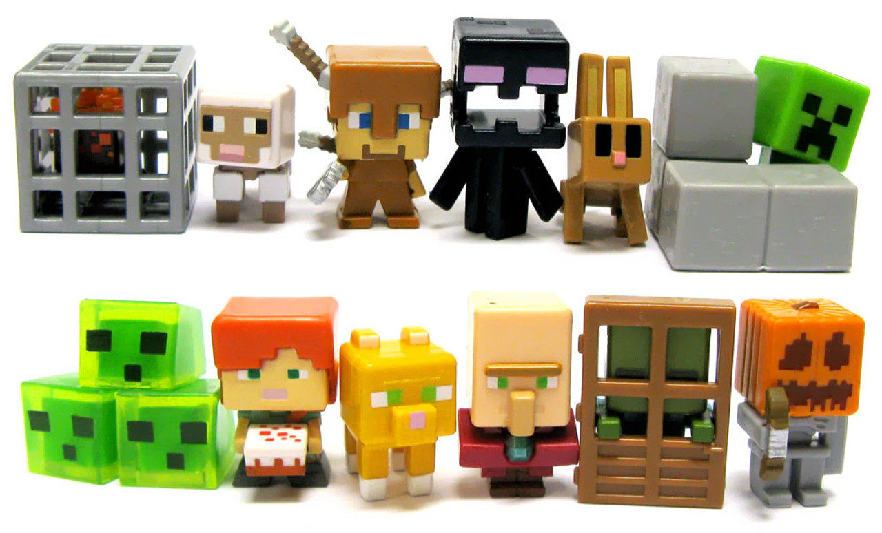 Huge Collection Of Minecraft Mini Figures Series 6 With ...