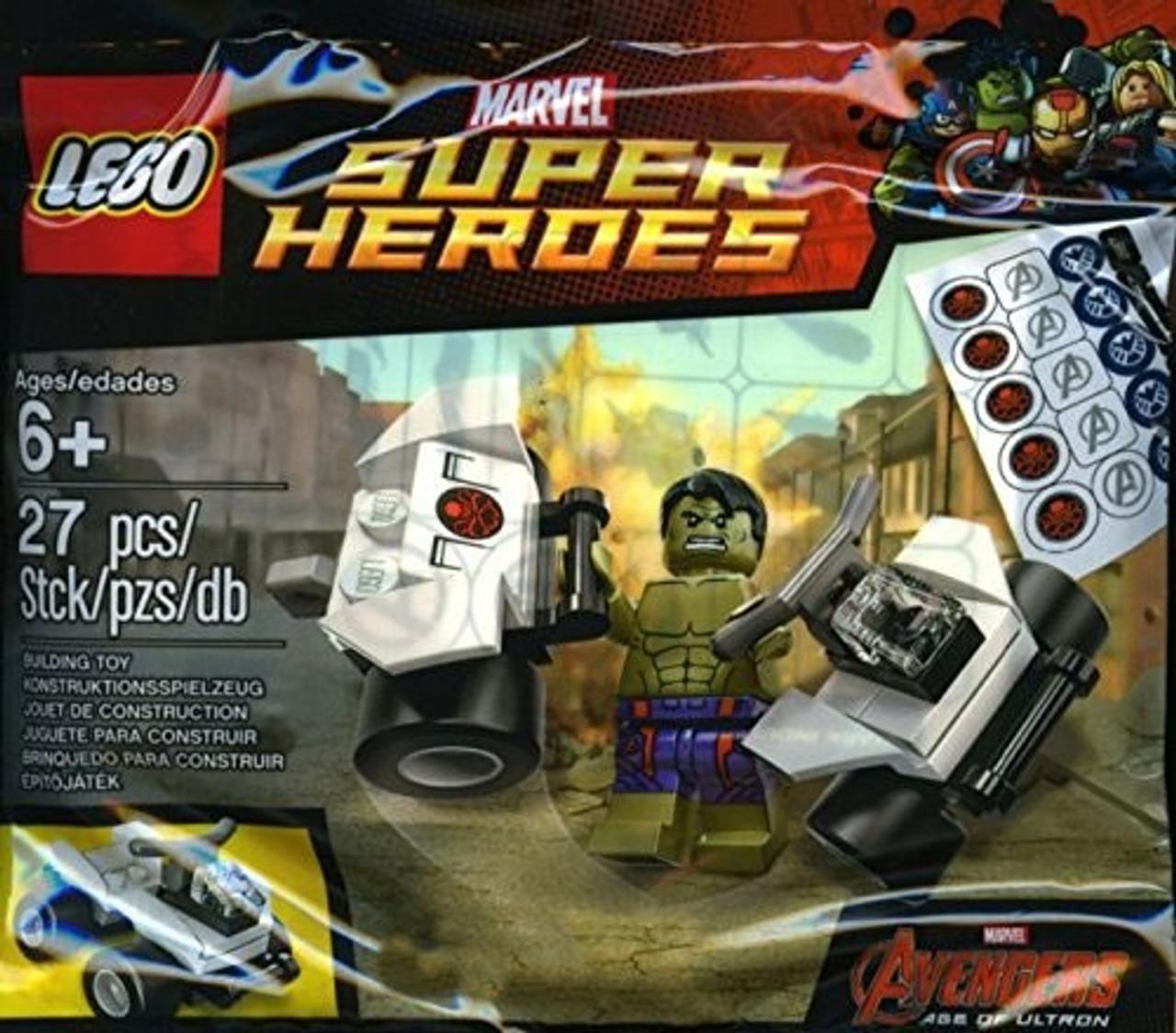 LEGO Marvel Avengers Age of Ultron Hulk Exclusive Mini Set 5003084 ...