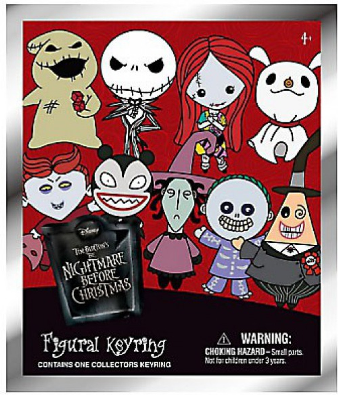 nightmare before christmas 3d figural keyring nbx series 1 mystery pack - Nightmare Before Christmas 3d