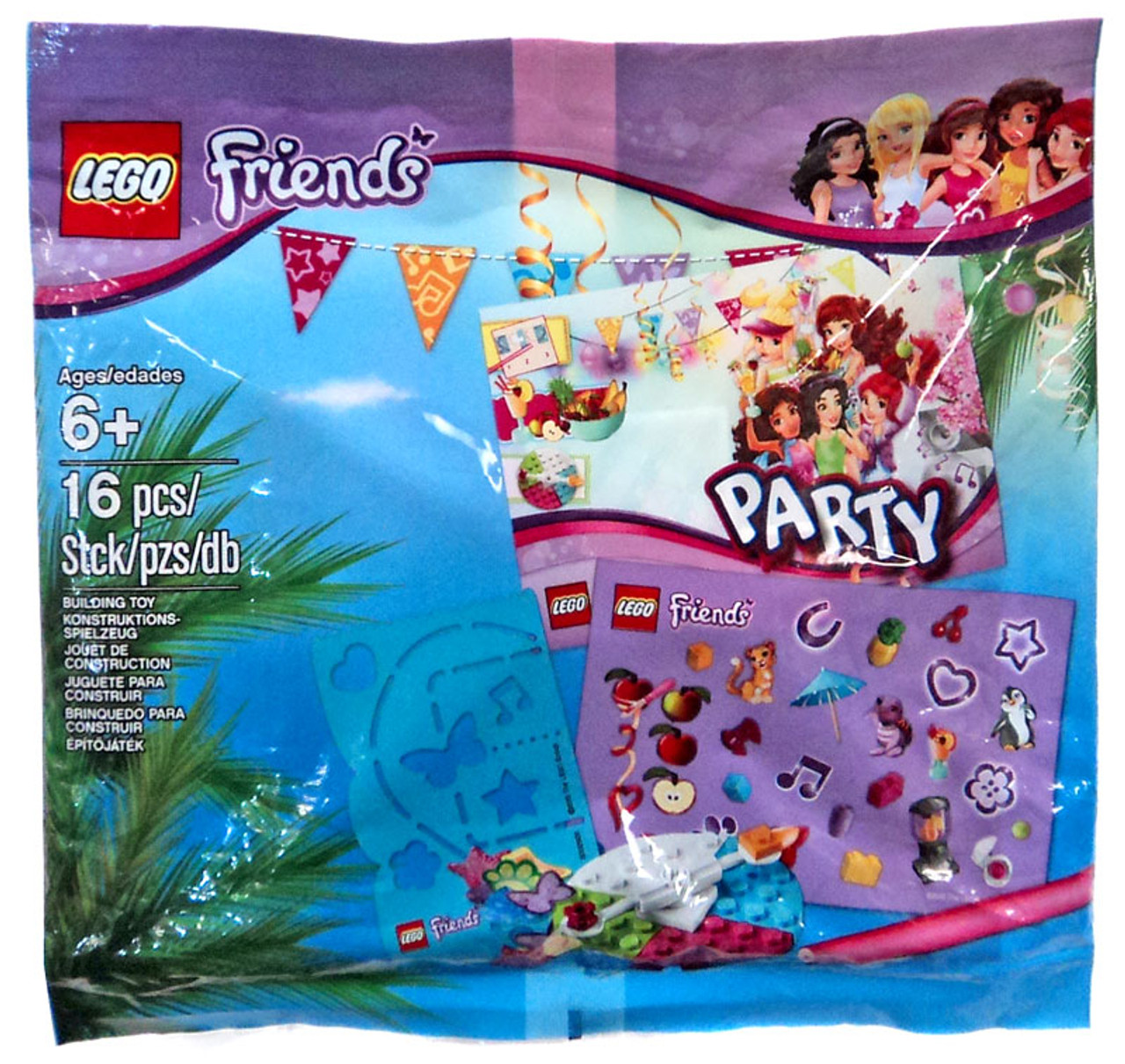 LEGO Friends Party Mini Set 5002928 Bagged - ToyWiz