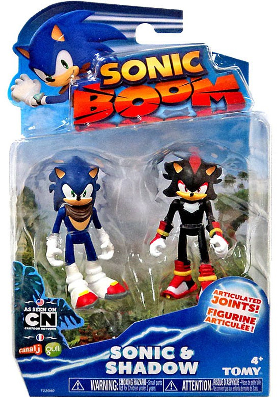 Sonic The Hedgehog Sonic Boom Sonic Shadow 3 Action Figure ...