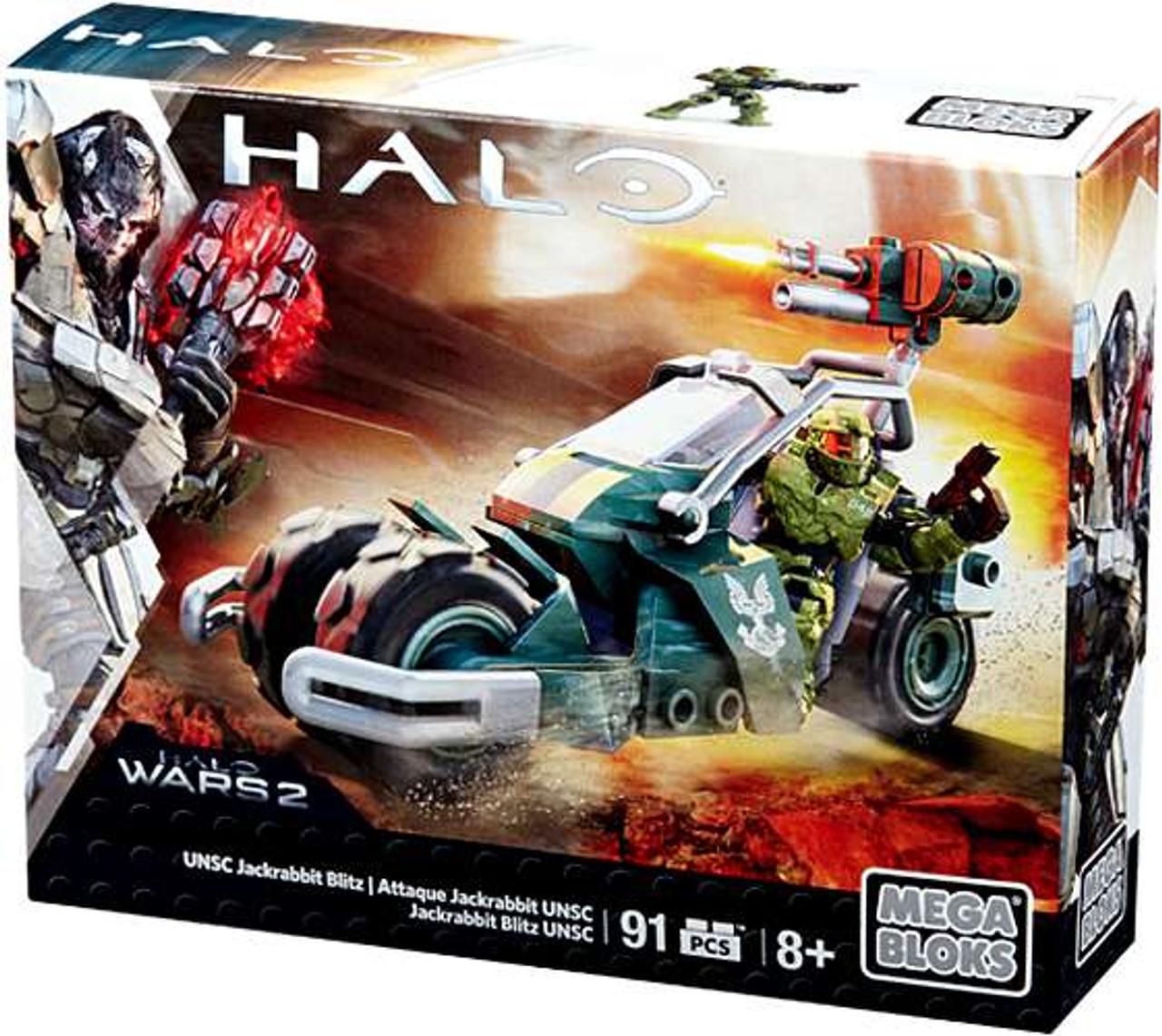 Mega Bloks Halo UNSC Jackrabbit Blitz Set #31848