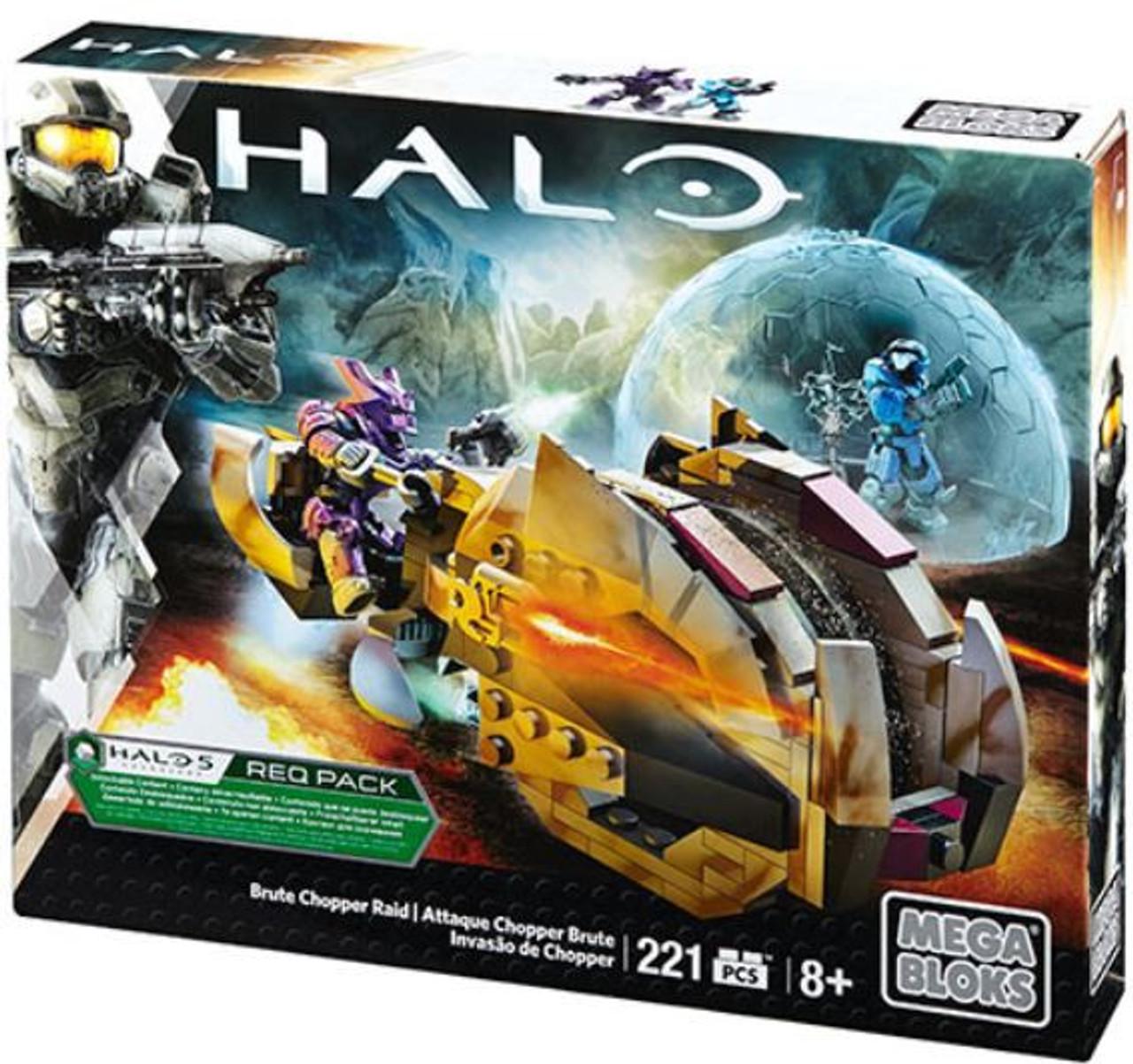 Mega Bloks Halo Brute Chopper Raid Set #31838
