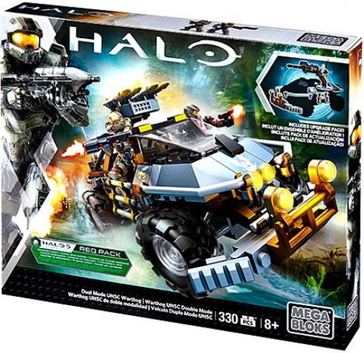 Mega Bloks Halo Dual Mode UNSC Warthog Set #31846