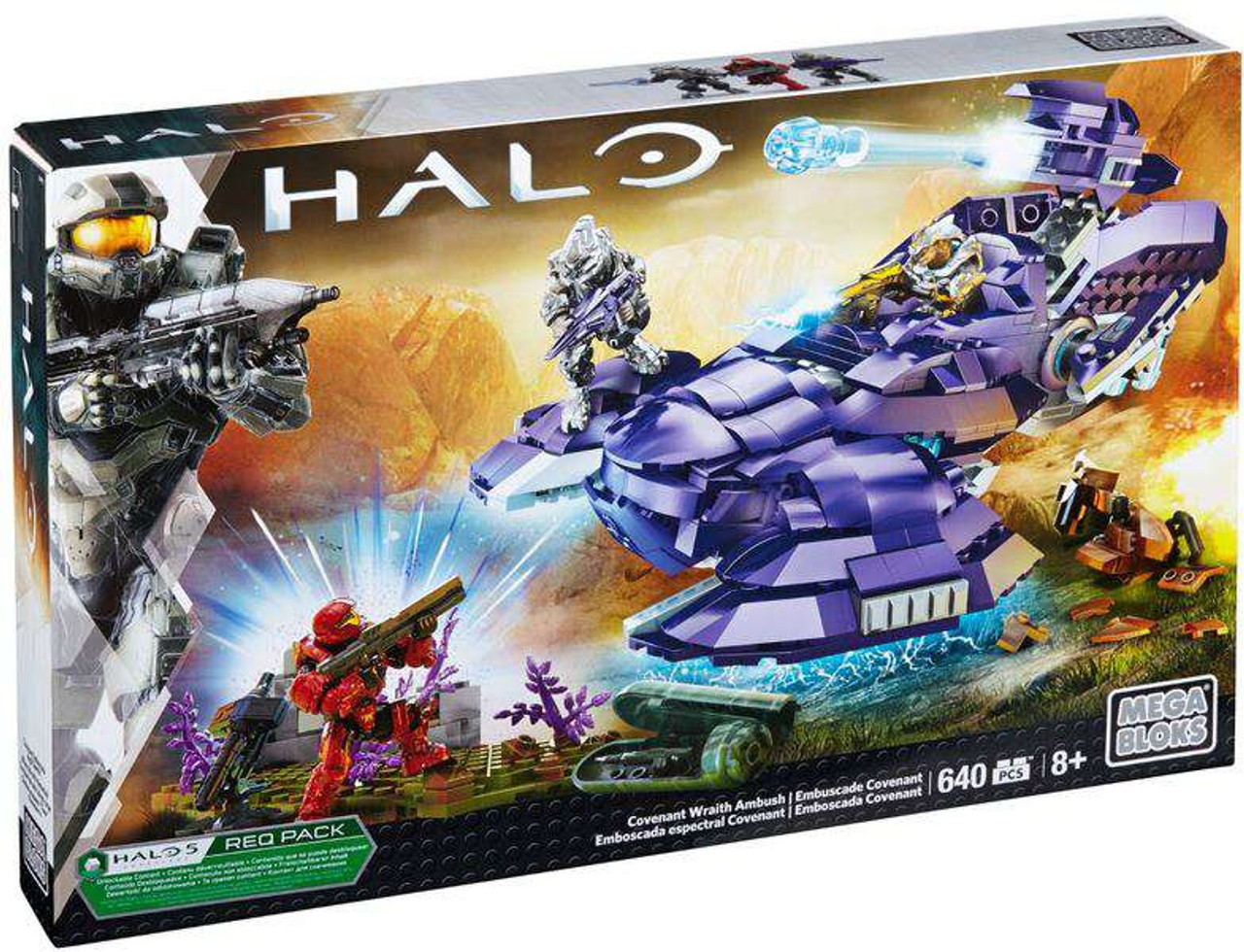 Mega Bloks Halo Covenant Wraith Ambush Set #31844
