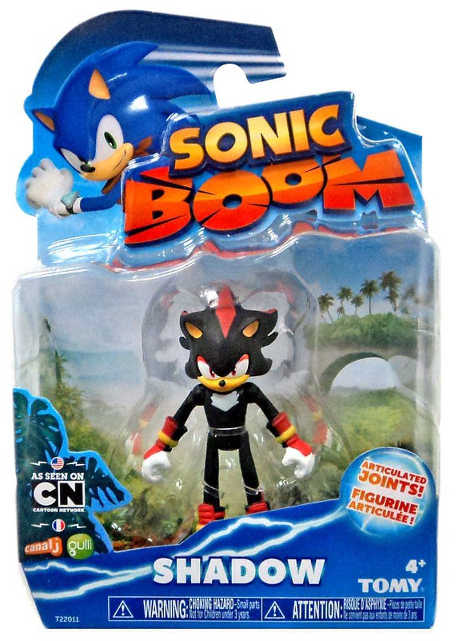 Sonic the hedgehog sonic boom shadow 3 action figure tomy toywiz - Shadow sonic boom ...