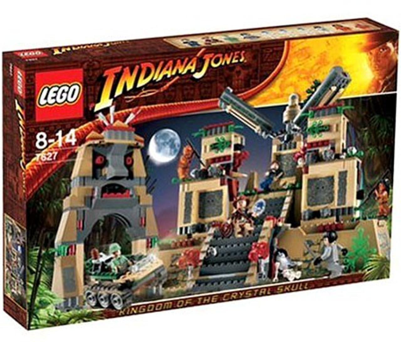 LEGO Indiana Jones Temple Of The Crystal Skull Set 7627