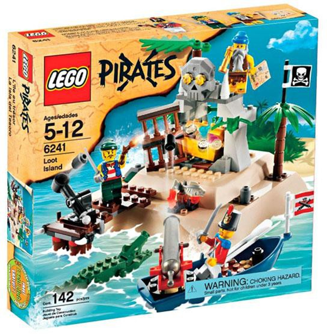 lego pirates loot island set 6241 - Lego Pirate