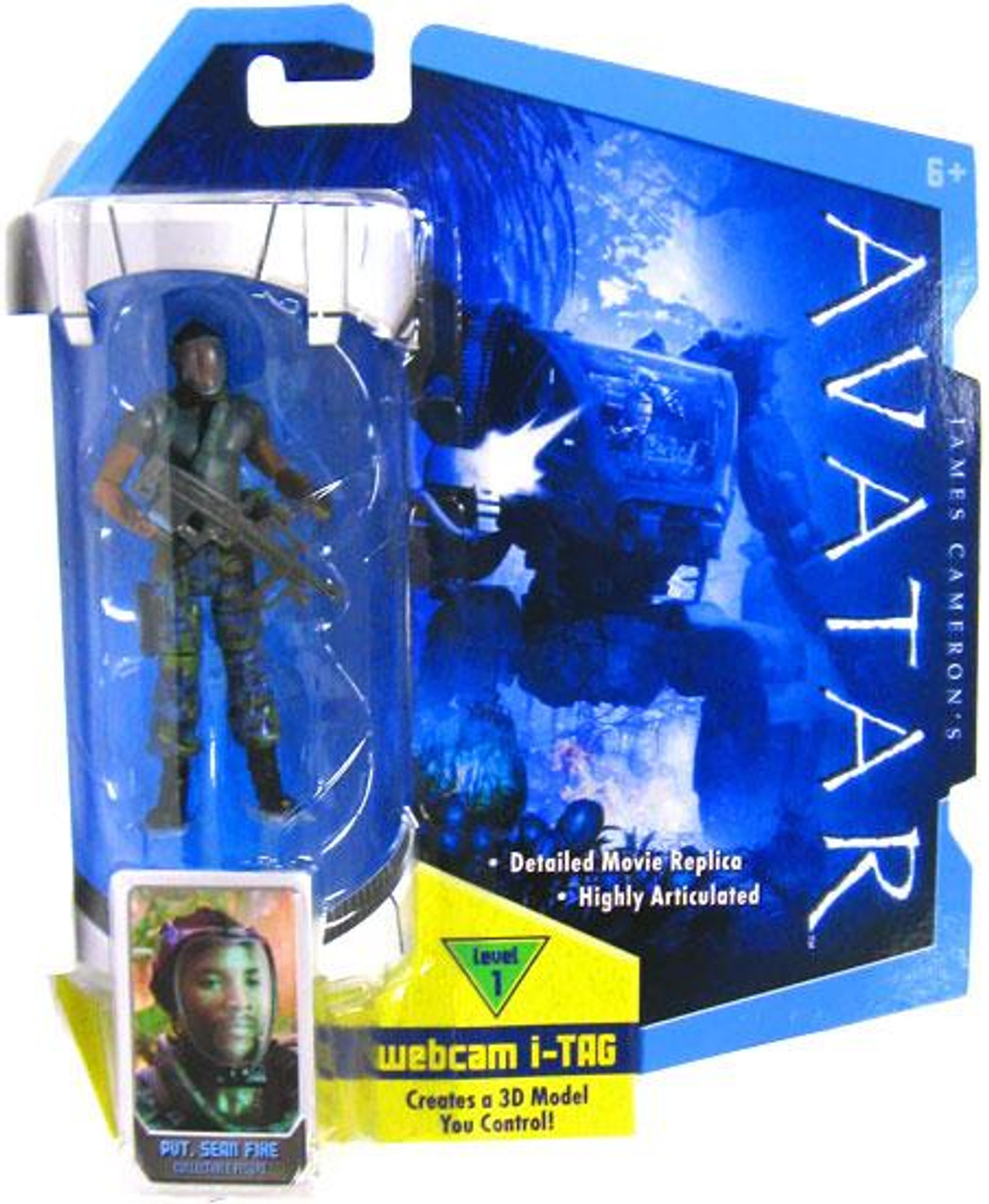 Avatar 3 2021: James Camerons Avatar Private Sean Fike 3.75 Action Figure