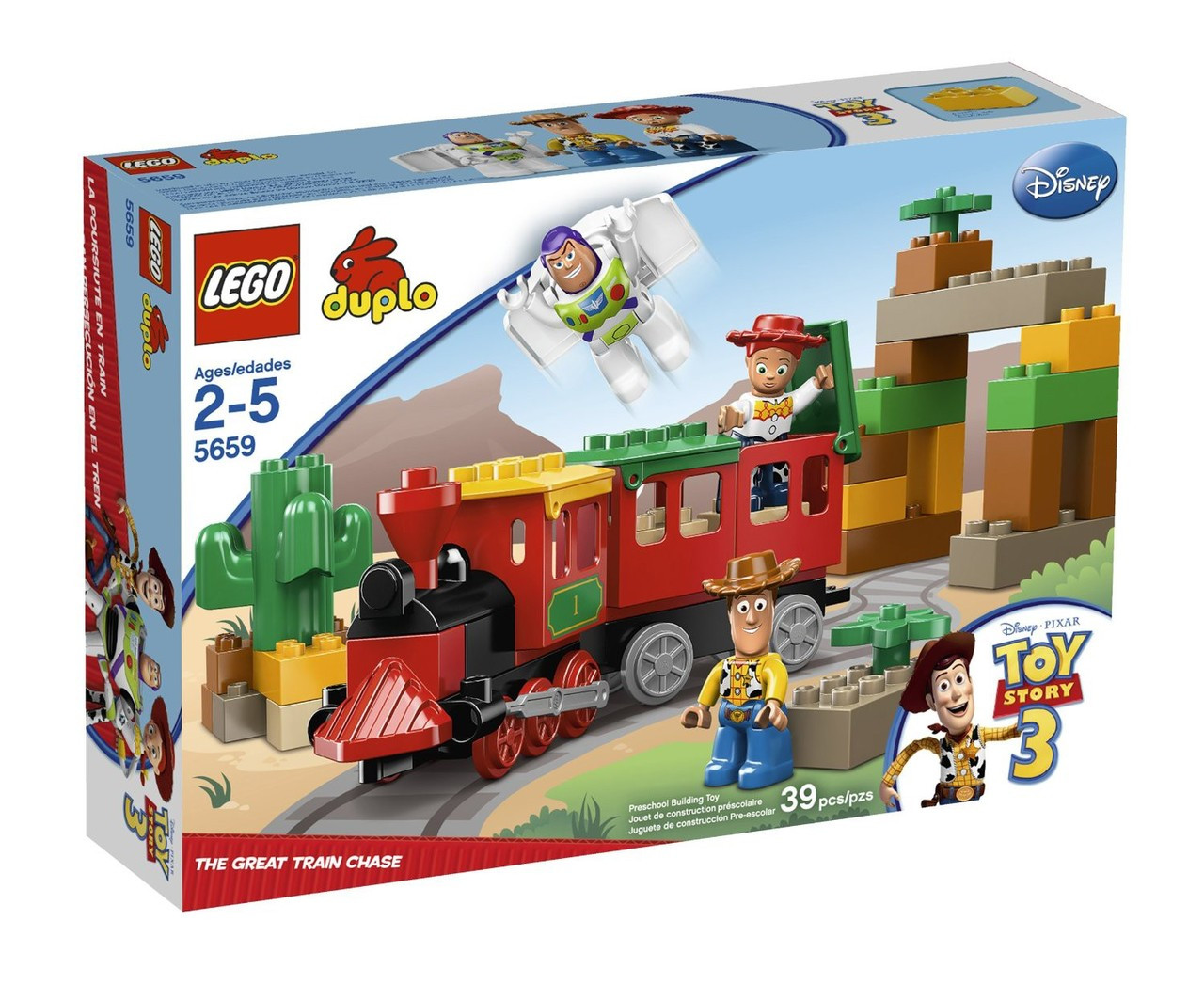 Lego toy story duplo toy story 3 great train chase set - Lego toys story ...