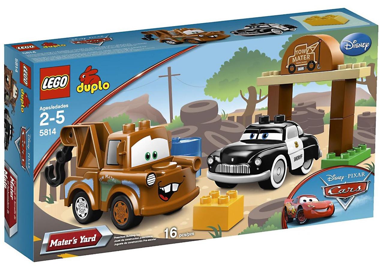 Lego Disney Pixar Cars Duplo Maters Yard Set 5814 Toywiz Spy Jet Escape 8638