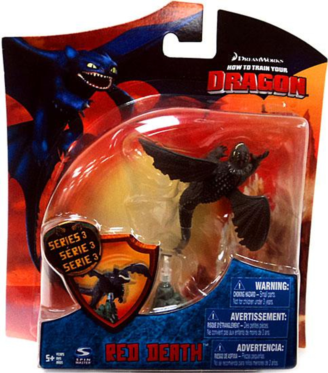 How to train your dragon series 3 red death 4 action figure spin how to train your dragon series 3 red death 4 action figure spin master toywiz ccuart Choice Image