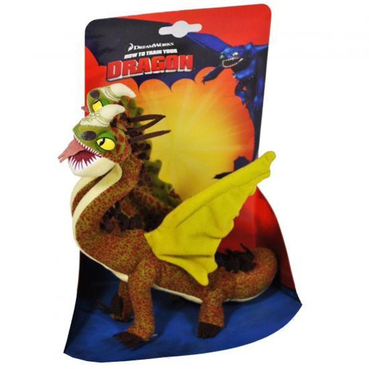 How to train your dragon hideous zippleback 85 plush spin master how to train your dragon hideous zippleback 85 inch plush ccuart Choice Image