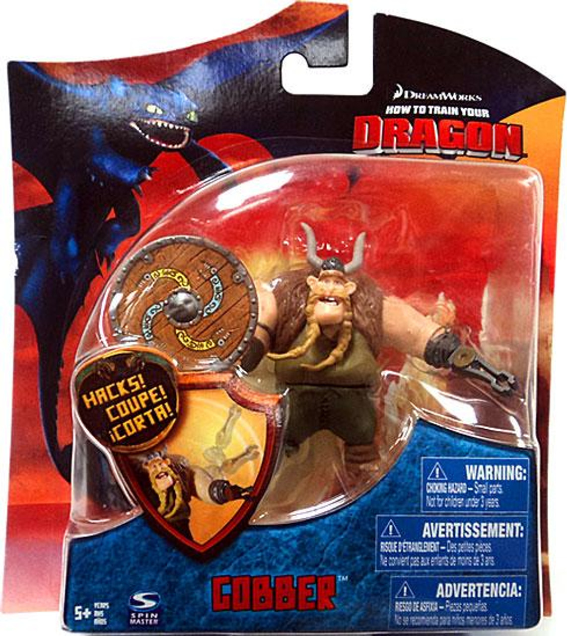 How to train your dragon series 3 gobber 4 action figure spin master how to train your dragon series 3 gobber 4 action figure spin master toywiz ccuart Images