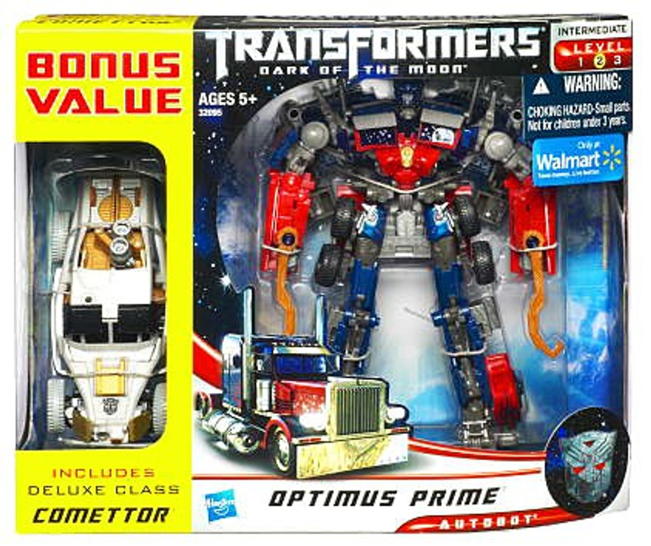 Transformers Dark of the Moon Optimus Prime Exclusive Voyager Action Figure