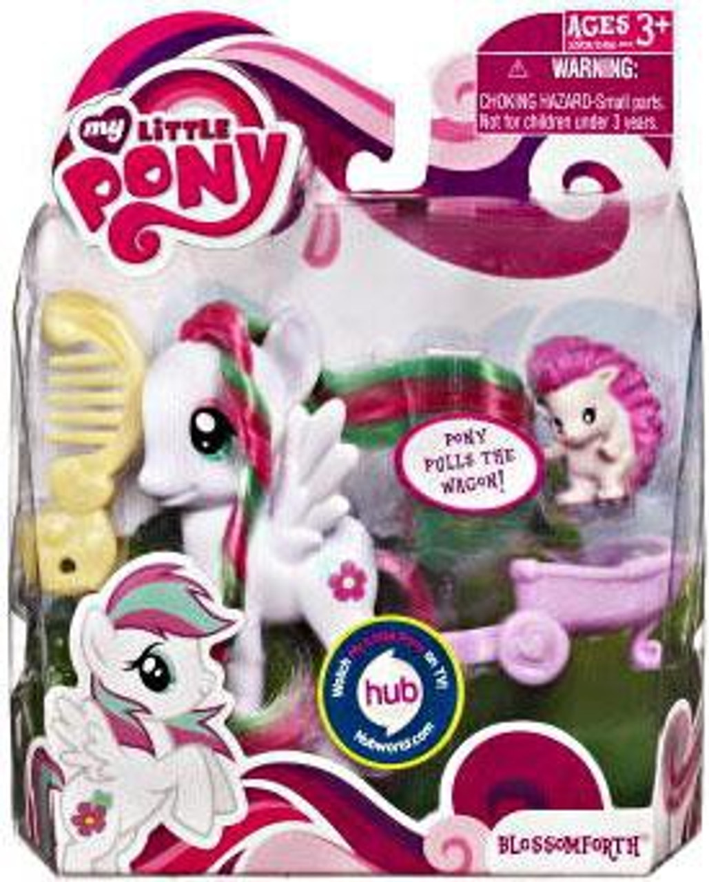 My Little Pony Basic Figures Blossomforth Figure [With Animal Friend]
