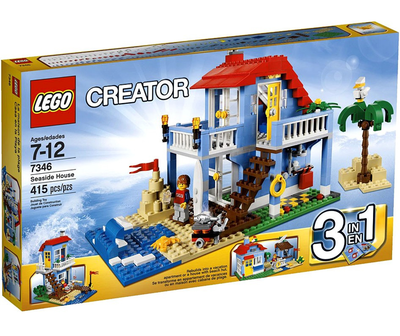 LEGO Creator Seaside House Set 7346 - ToyWiz