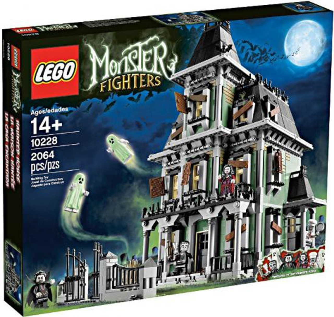 lego monster fighters haunted house exclusive set 10228 - Lego Monstre