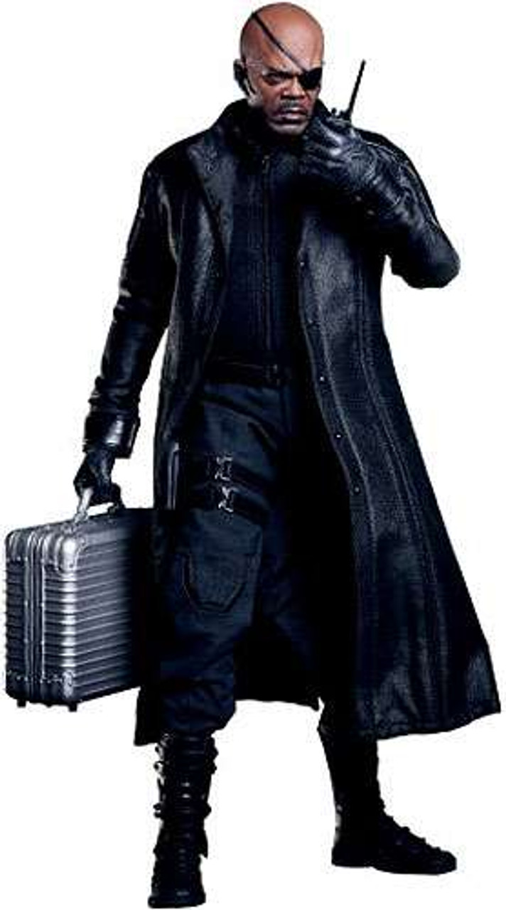 Marvel Avengers Movie Masterpiece Nick Fury 1/6 Collectible Figure