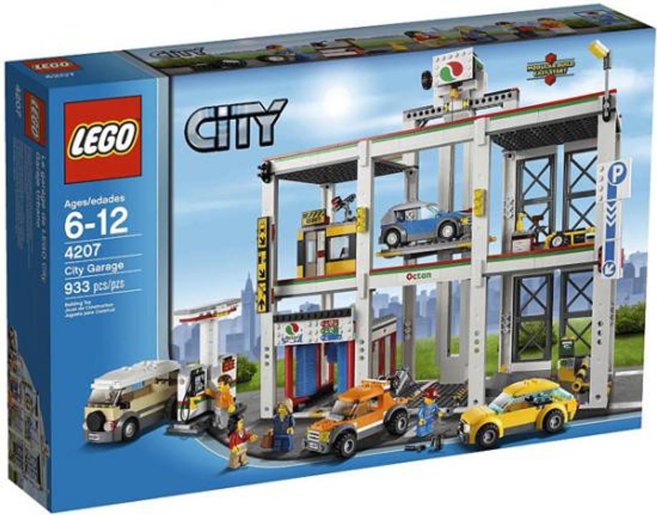 Lego City Garage : Lego city city garage set toywiz