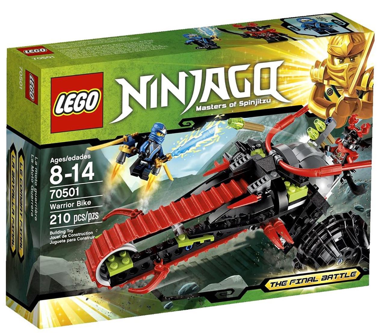 Lego Ninjago The Final Battle Warrior Bike Set 70501 Toywiz 70594 Lighthouse Siege