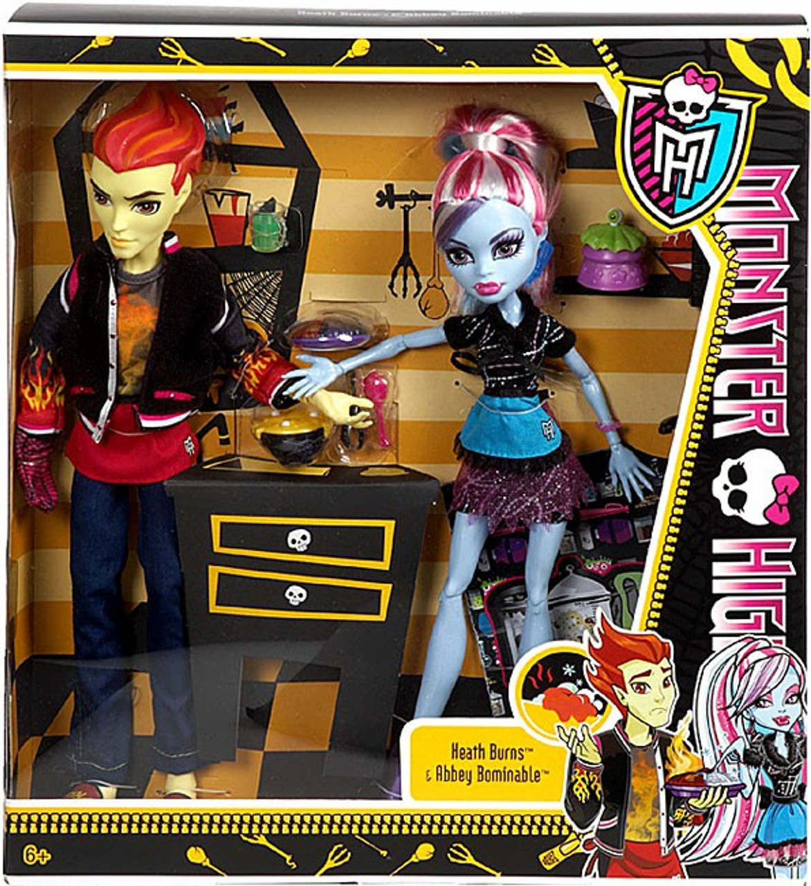 monster high classroom home ick heath burns abbey bominable 10 5