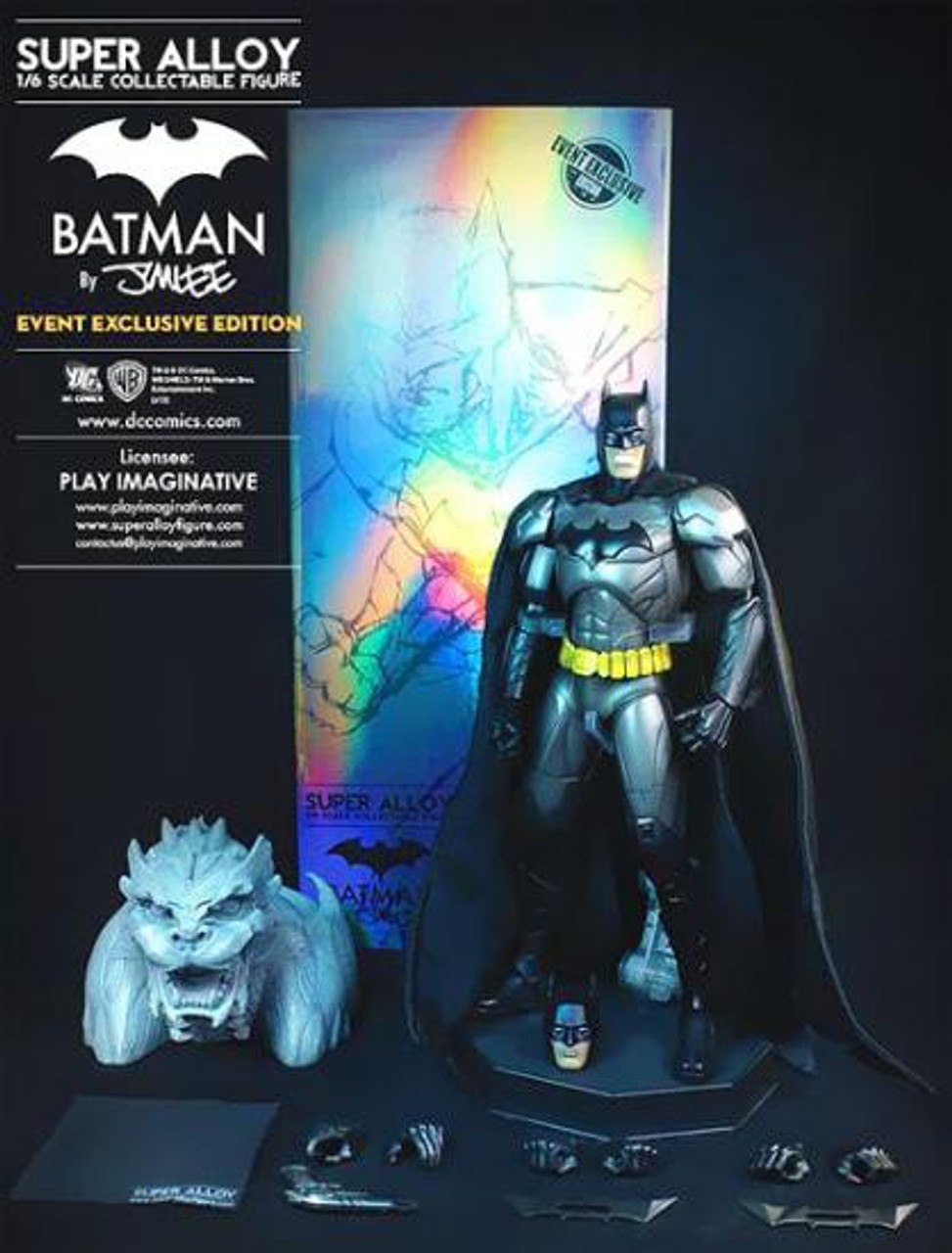 Super Alloy Diecast Batman Exclusive 1/6 Collectible Figure [Jim Lee Version, Exclusive]