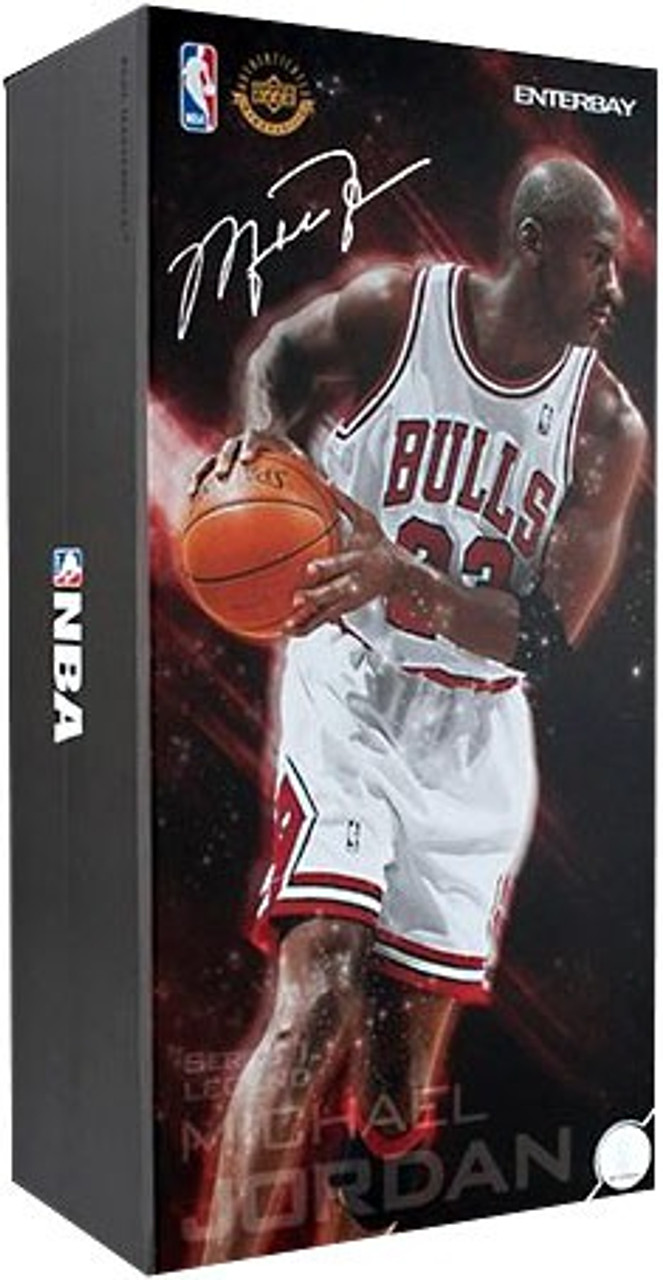 NBA Chicago Bulls Masterpiece Michael Jordan 1/6 Collectible Figure #23 [White Uniform Home Edition]