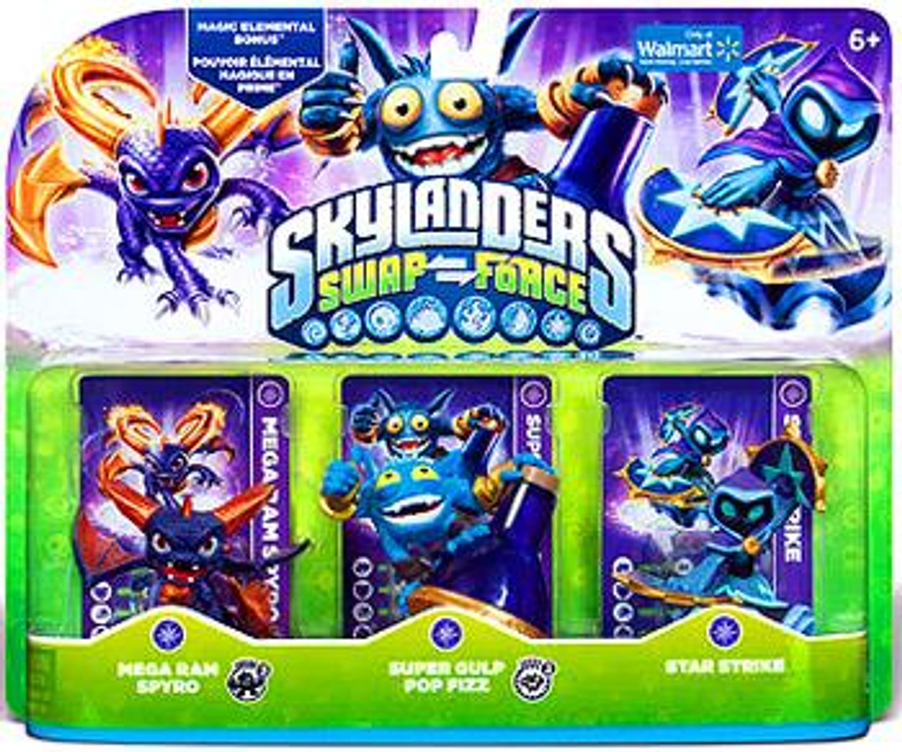 SKYLANDERS SWAP FORCE SUPER GULP POP FIZZ FIGURE LOOSE | eBay