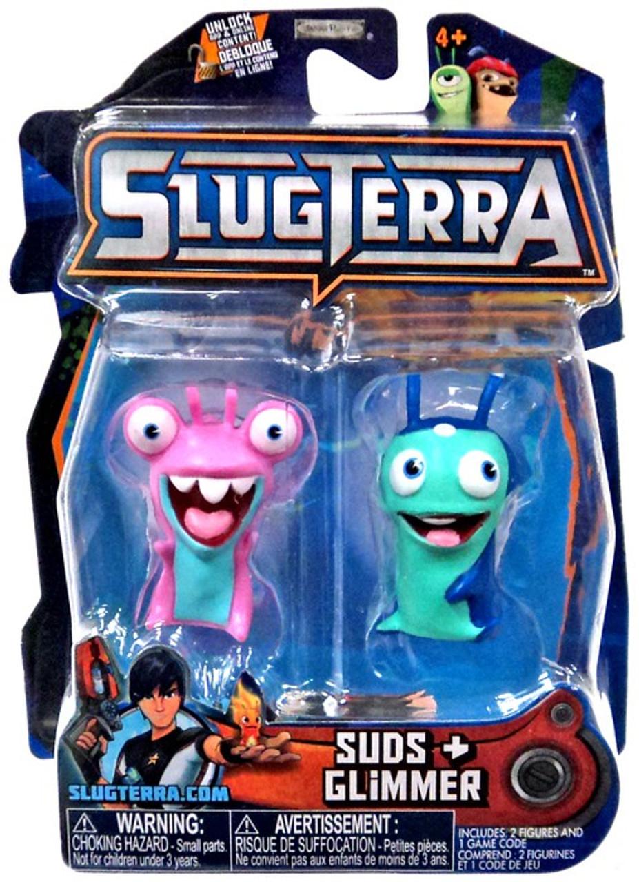 slugterra series 3 suds glimmer mini figure 2 pack jakks pacific