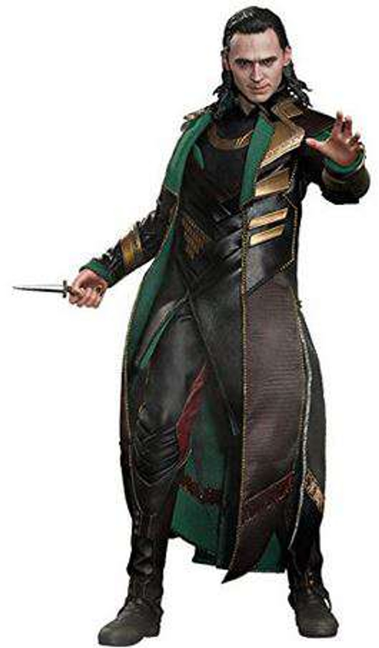 Thor The Dark World Movie Masterpiece Loki 1/6 Collectible Figure [Thor 2]