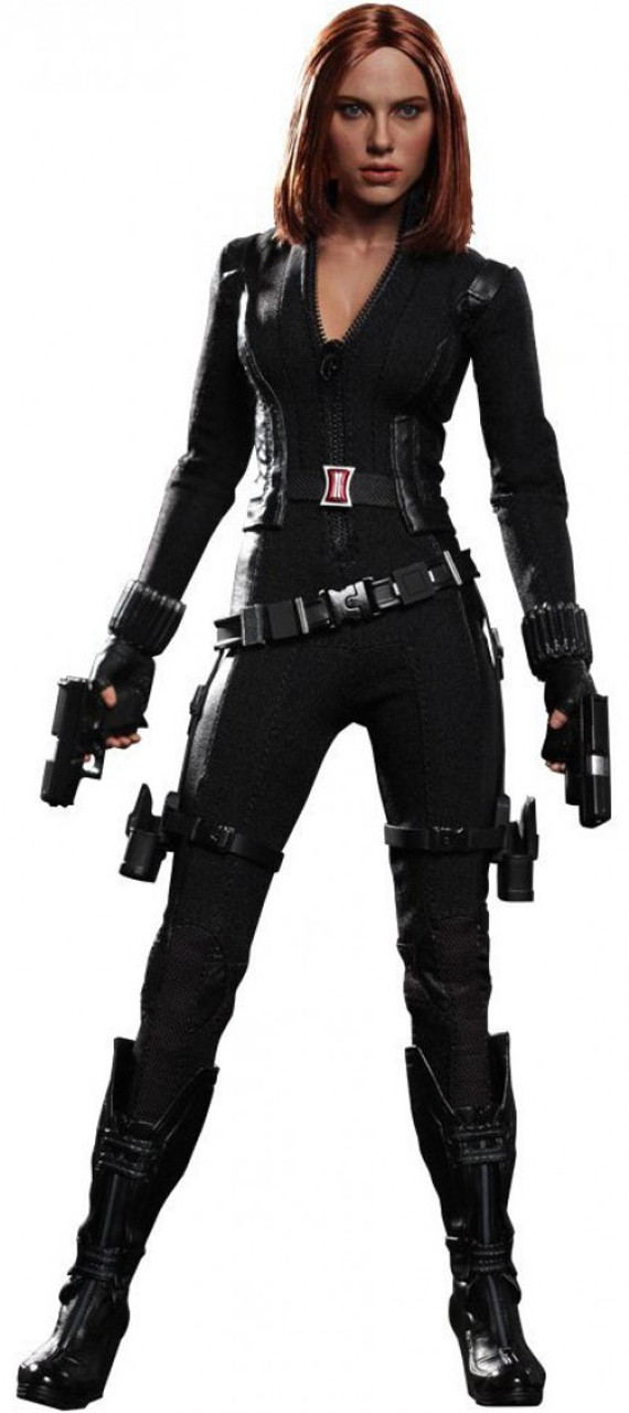 Captain America The Winter Soldier Movie Masterpiece Black Widow Collectible Figure [The Winter Soldier]