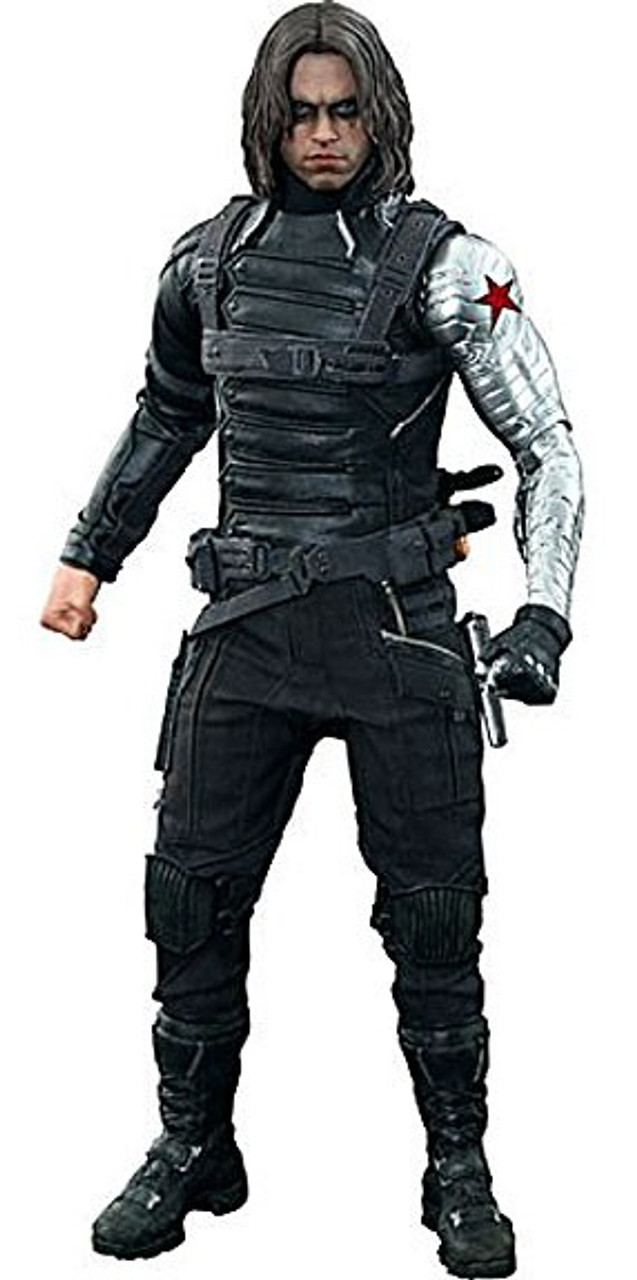 Captain America The Winter Soldier Movie Masterpiece Winter Soldier Collectible Figure