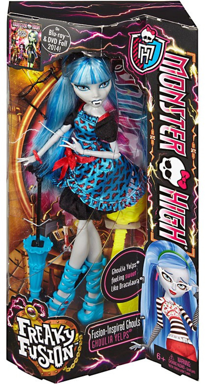 monster high freaky fusion ghouls ghoulia yelps 105 inch doll - Ghoulia Yelps
