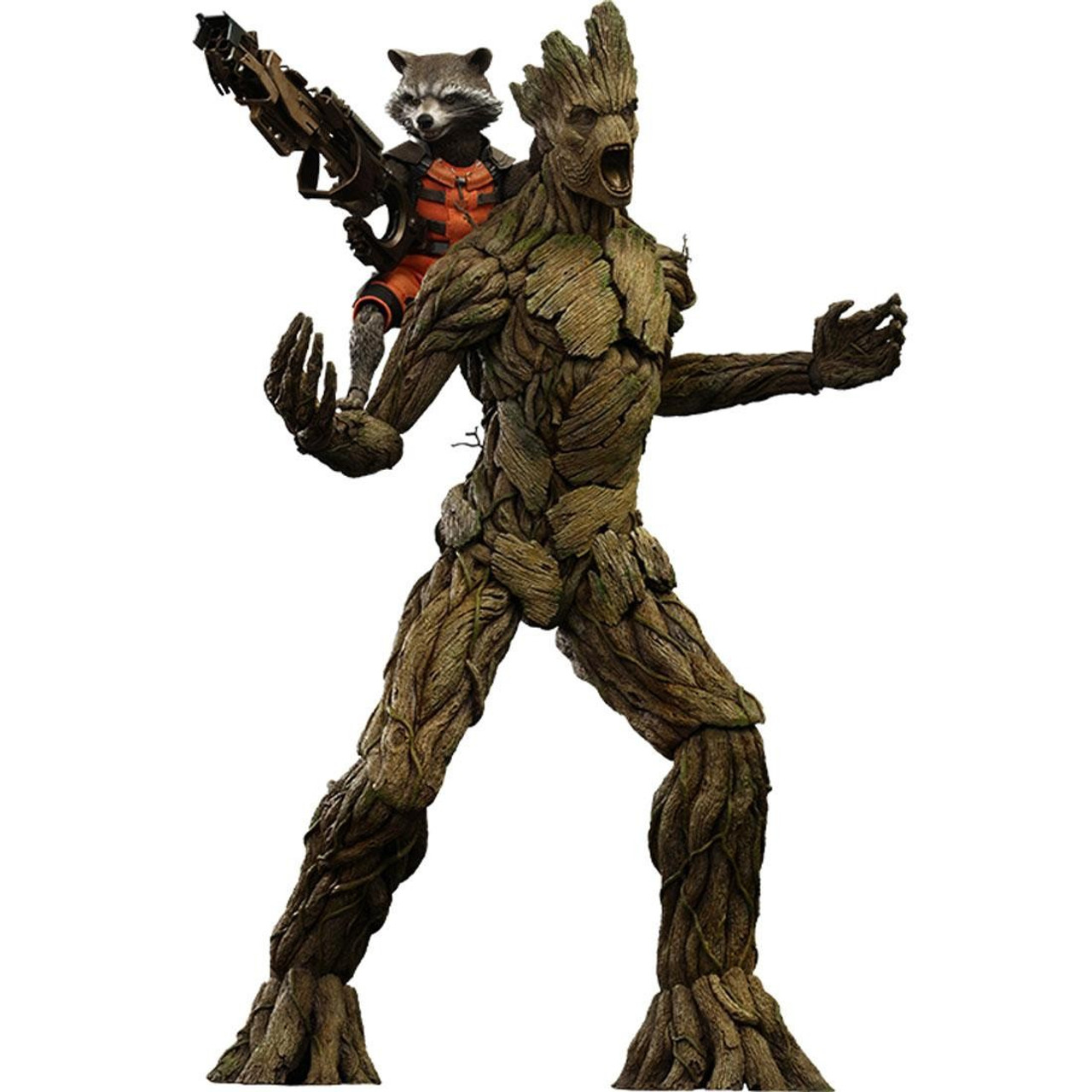 Marvel Guardians of the Galaxy Movie Masterpiece Rocket & Groot 1/6 Collectible Figure Set