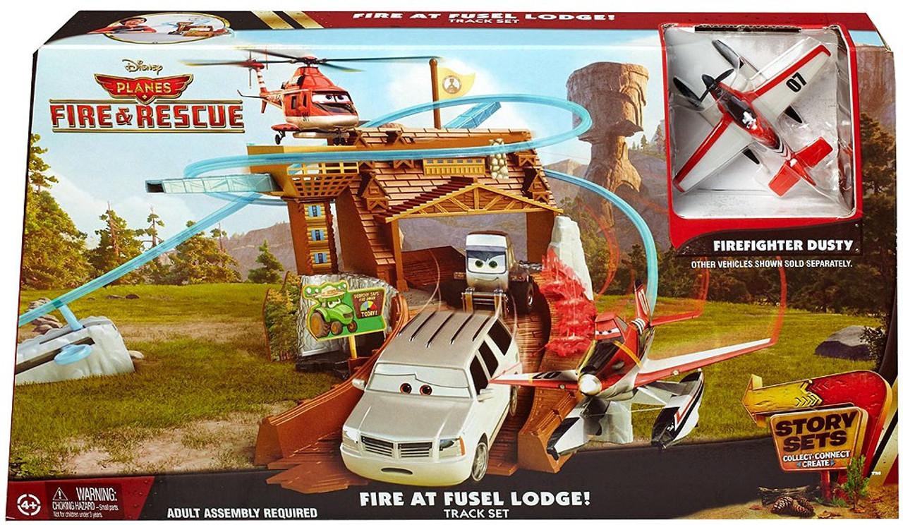 Disney planes fire rescue fire at fusel lodge track set mattel toys disney planes fire rescue fire at fusel lodge track set voltagebd Choice Image