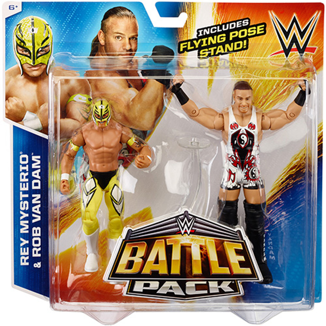 WWE Wrestling Battle Pack Series 33 Rey Mysterio Rob Van ...