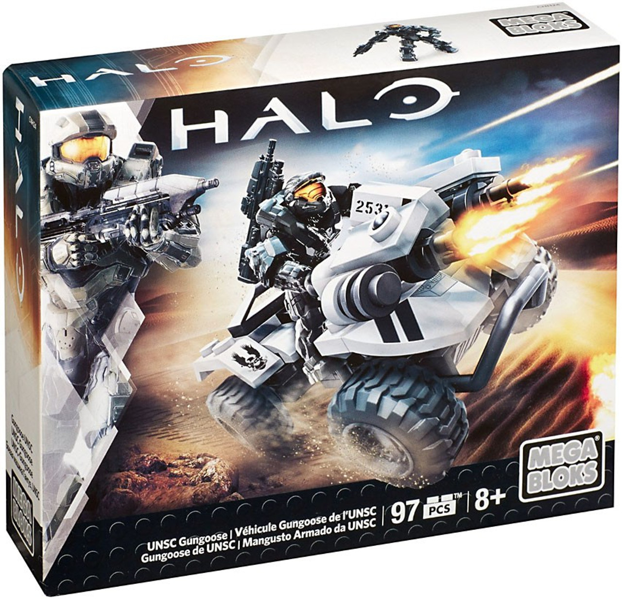 Mega Bloks Halo UNSC Gungoose Set #38193